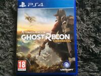 PS4 game, Ghost Recon wildlands