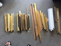 Picture frames, framing supplies, tape,