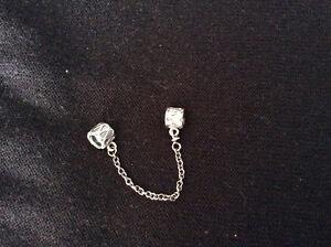 Chaine de sécurité pour bracelet Pandora en argent sterling