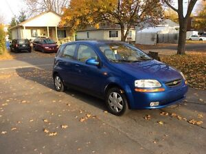 Chevrolet Aveo seulement 122 000 km !!!