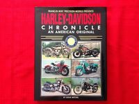 Harley Davidson Chronicle An American Original by Doug Mitchel