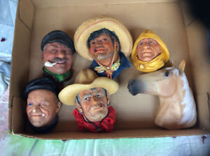 Old man figurines