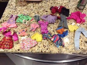 Collection of Barbie clothes for sale London Ontario image 1