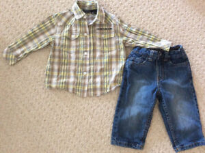 18 Month toddler boys clothing