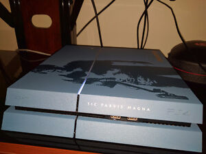 PS4 500GB Limited edition Uncharted 4.