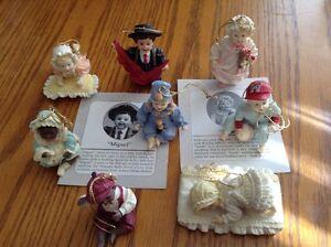 Aston-Drake Heirloom Doll Ornaments