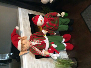 Christmas elves $50 for large $40 for small London Ontario image 1