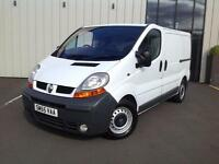 Renault Trafic 2.5TD ( ABS ) SL27 dCi (140) PANEL VAN 55 REG, VGC FOR YEAR