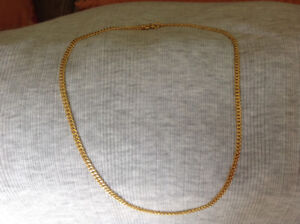 24K (999.9 Pure) Solid Gold Necklace