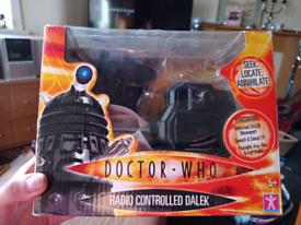 Radio controlled talking Dalek