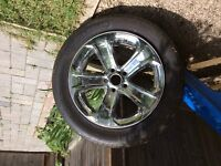 DODGE CHARGER TIRE AND RIM
