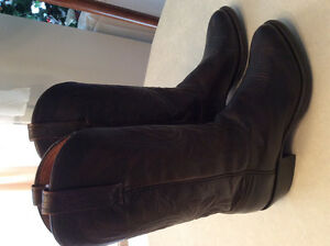 Lucchese handcrafted cowboy boots