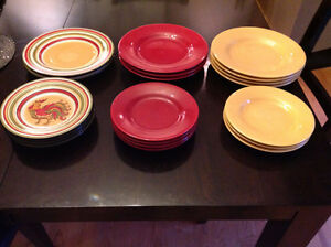 Dinner and Side Plate Set