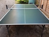 3/4 table tennis table
