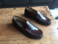 Men's, Repitte, Oxblood, All Leather Mocassins/Loafers (44)