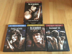 Rambo trilogy in english only