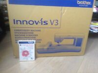 BRAND NEW brother innov-'is V3 embroidery machine