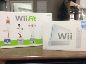 Wii Console with Wii Fit
