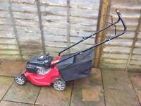 mount field rs 100 lawn mower