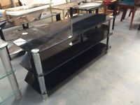 Safety Glass TV Tables