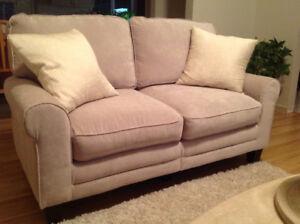 Brand new Serta love seat