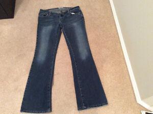 American Eagle jeans, boot cut stretch, size 8L, EUC