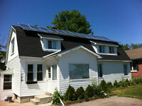 New renovated 3bdrm in Solar House - Cool lower unit!
