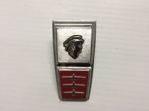 Trunk Lid Emblem, Mercury Head, 1963-1964