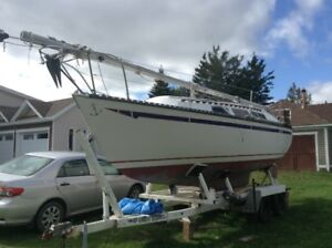 1979 Chrysler sailboat  $ 9500.00 no serious offer refused