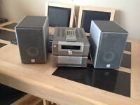 Ministry of sound DAB radio and CDplayer,silver