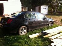 2004 SATURN ION FOR REPAIR OR PARTS