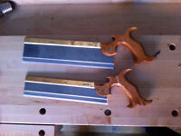 Lie Nielsen dovetail and carcass saws - Sharp!