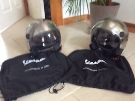 Vespa Aviator Helmets Steel sizes M and Xl