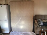 Double bed base in great condition