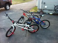 Three bikes for sale