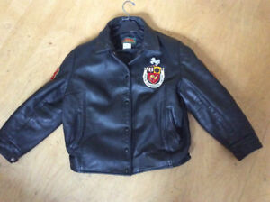 Official University of Guelph leather jacket - unisex