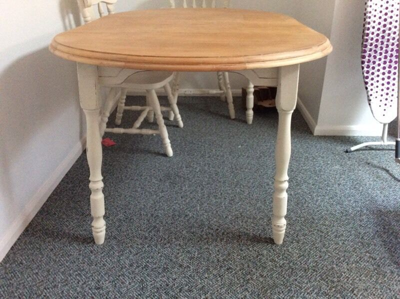 Refurbished dining table 4 chairs buy or sell find it used for Furniture kings lynn
