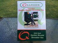 Garden vac and blower