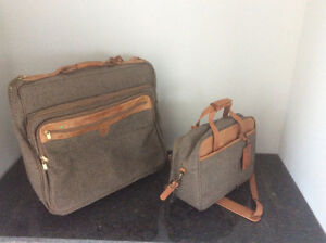 """HARTMANN Quality luggage. Leather and Tweed carry on sizes 22"""" Windsor Region Ontario image 2"""