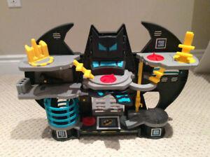 Imaginext Bat Cave, Imaginext Jail, Transformer Firehouse