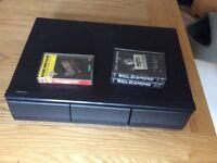 Vintage Retro 36 Cassette Tape Storage Holder.