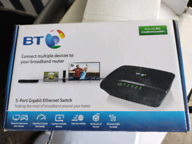 BT 5-port Gigabit Ethernet switch