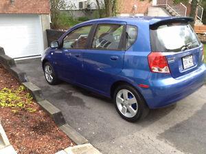 2008 Pontiac Wave 5v.Manuelle, Bleu
