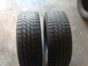 """Two """"Nordic"""" P195/65r16"""" snow tires"""