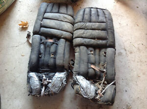 Goalie pads and pants