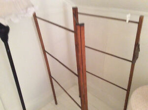 Antique clothes drying rack