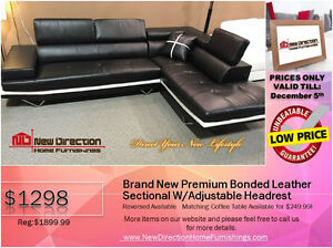 ◆BLACK FRIDAY WEEK! Brand New 2PCs CORDUROY Sectional@NEWD Edmonton Edmonton Area image 8