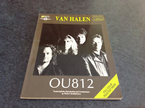Van Halen guitar tab book in new condition!
