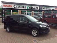 2014 14 VW CADDY MAXI 1.6 C20 TDI KOMBI CREW VAN FSH 102 BHP 5 SEATER CHOICE