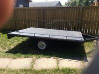Quad / sled trailer .1000 obo